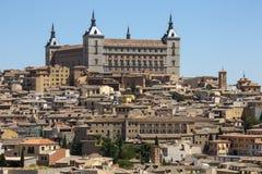 Toledo - Alcazar - Spanien Royaltyfri Fotografi