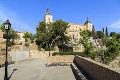 Toledo Alcazar, Spanien Lizenzfreie Stockbilder