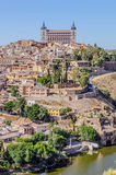 Toledo Alcazar view Stock Photo