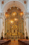 Toledo - Baroque church Iglesia de san Idefonso Royalty Free Stock Images