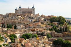 Toledo bonito e histórico, Espanha foto de stock royalty free