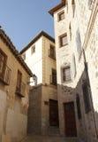 Toledo brick architecture. Spain historical travel. Royalty Free Stock Photos