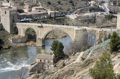 Toledo Bridge Royalty Free Stock Images