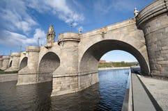 Toledo Bridge Stock Photography