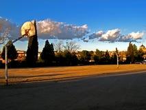 Toledo, campo da pallacanestro Fotografia Stock Libera da Diritti