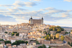 Toledo is capital of province of Toledo near Madrid royalty free stock photo