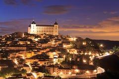 Toledo is capital of province of Toledo, Spain. Stock Photos