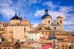 Toledo, Castilla la Mancha medieval Spain Royalty Free Stock Photo