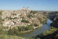 Toledo, Castilla - La Mancha / Spain. October 19, 2017. The city has many places of interest and is a World Heritage Site since 19. Toledo is a municipality and Royalty Free Stock Images