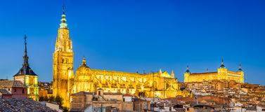Toledo, Castilla La Mancha, Spanje Royalty-vrije Stock Afbeeldingen