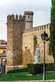 Toledo castle view Royalty Free Stock Photography