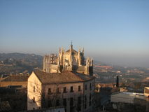 Toledo cathedral. A view of the cathedral in Toledo, Spain Royalty Free Stock Photo
