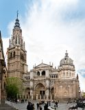 Toledo Cathedral. The Primate Cathedral of Saint Mary of Toledo (Spanish: Catedral Primada Santa Maria de Toledo) is a Roman Catholic cathedral in Toledo, Spain Royalty Free Stock Image