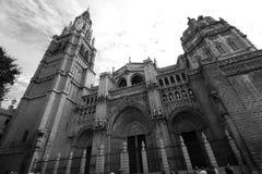 Toledo Cathedral stock afbeeldingen