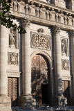 Toledo Cathedral Entrance, Medieval city of Toledo, Spain Stock Photo