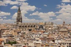 Toledo Cathedral i Toledo, Spanien Royaltyfri Foto