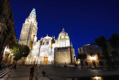 Toledo cathedral. Royalty Free Stock Photo