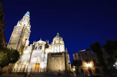 Toledo cathedral. Royalty Free Stock Image