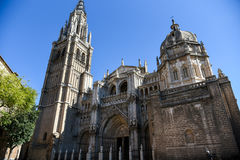 Toledo Cathedral Royalty Free Stock Photos