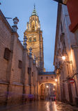 Toledo - Cathedral Primada Santa Maria de Toledo Royalty Free Stock Photography