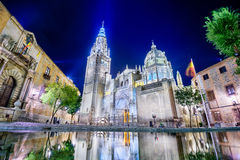 Toledo Cathedral Royalty Free Stock Images