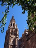 Toledo Cathedral Spanien Arkivfoton