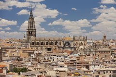 Toledo Cathedral a Toledo, Spagna Fotografia Stock Libera da Diritti