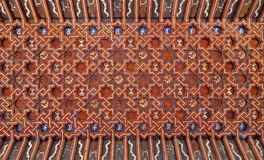 Toledo - Ceiling of atrium of Monasterio San Juan de los Reyes Royalty Free Stock Image