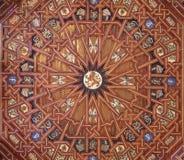 Toledo - Ceiling of atrium of Monasterio San Juan de los Reyes Stock Photos