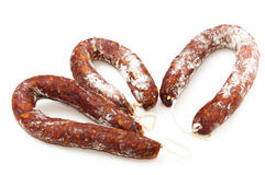 Toledo chorizo ​​ Royalty Free Stock Photo
