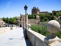 Toledo  City. Panoramic view of Toledo  City in Spain Royalty Free Stock Images