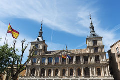 Toledo city hall, Spain Royalty Free Stock Photos