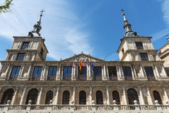 Toledo city hall, Spain Stock Images