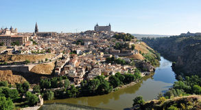 Toledo city landscape Stock Photos