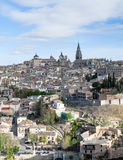 Toledo city in vertical Royalty Free Stock Photos