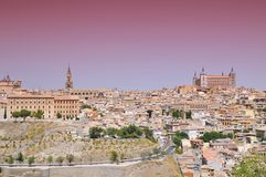 Toledo city. Royalty Free Stock Photography