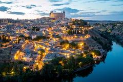 Toledo Cityscape Foto de Stock Royalty Free