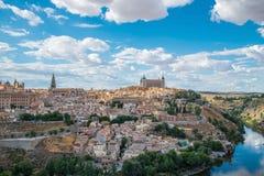 Toledo Cityscape Royalty-vrije Stock Foto