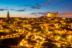 Toledo Cityscape Fotos de Stock Royalty Free