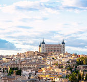 Toledo Cityscape Royalty Free Stock Photos