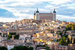 Toledo Cityscape Royalty Free Stock Photography
