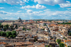 Toledo cityscape Royalty Free Stock Images