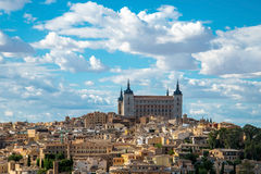 Toledo cityscape Stock Photos