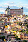 Toledo Cityscape Spain Stock Photo