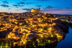 Toledo cityscape Spain Stock Photos