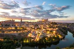 Toledo cityscape Spain Royalty Free Stock Photos