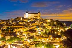 Toledo Cityscape Spain Royalty Free Stock Photography