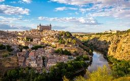 Toledo Cityscape Spain Stock Images