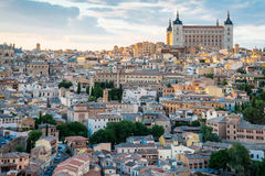 Toledo cityscape. Toledo is capital of province of Toledo Stock Photo