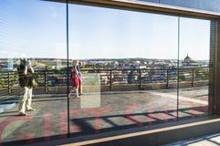 Toledo in De der Spiegel Stockfotografie